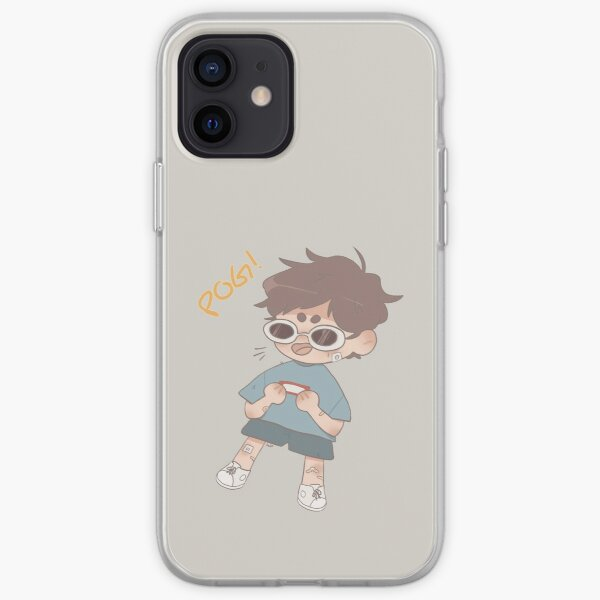 Georgenotfound POGGERS!! iPhone Soft Case RB0906 product Offical GeorgeNotFound Merch