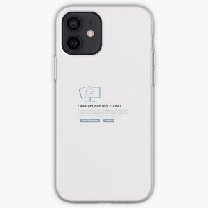 Georgenotfound 404 iPhone Soft Case RB0906 product Offical GeorgeNotFound Merch