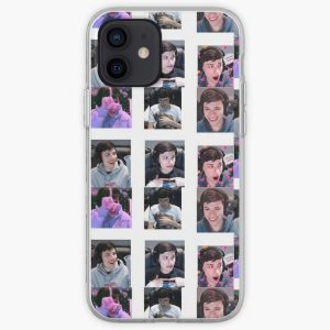 GeorgeNotFound Sticker Pack :D iPhone Soft Case RB0906 product Offical GeorgeNotFound Merch