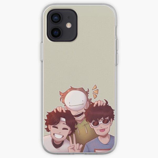 DreamTeam (Dream, GeorgeNotFound, Sapnap) iPhone Soft Case RB0906 product Offical GeorgeNotFound Merch