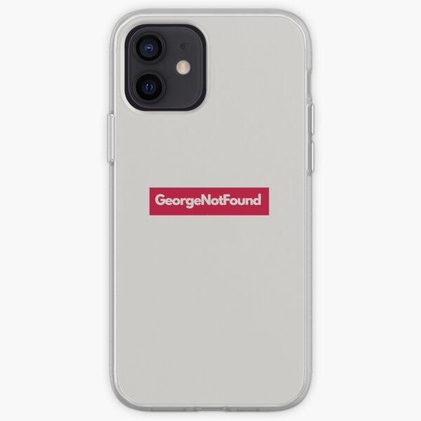 georgenotfound grey iPhone Soft Case RB0906 product Offical GeorgeNotFound Merch