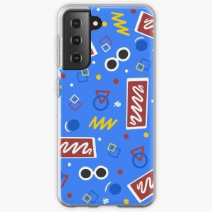 Georgenotfound inspired bowling alley carpet design Samsung Galaxy Soft Case RB0906 product Offical GeorgeNotFound Merch