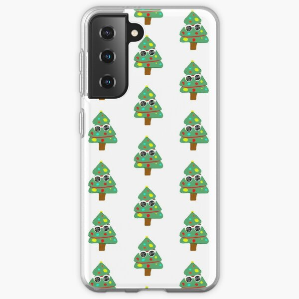 GeorgeNotFound Christmas tree Samsung Galaxy Soft Case RB0906 product Offical GeorgeNotFound Merch