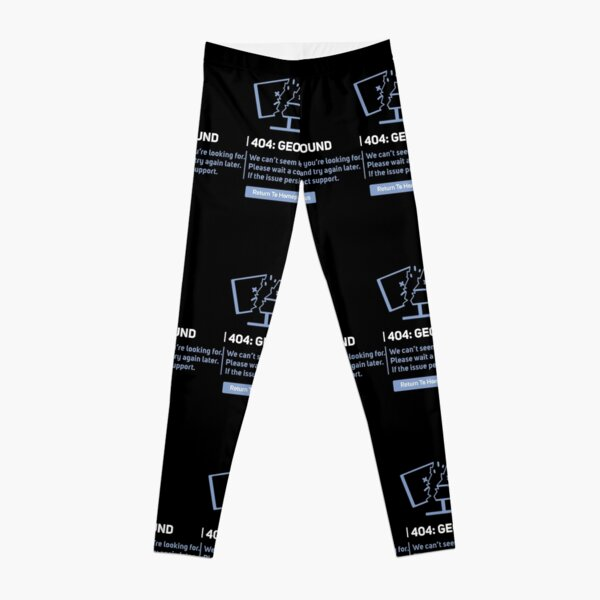 Georgenotfound 404 George Not Found Leggings RB0906 product Offical GeorgeNotFound Merch