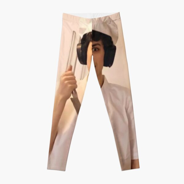GeorgeNotFound holding knife Leggings RB0906 product Offical GeorgeNotFound Merch