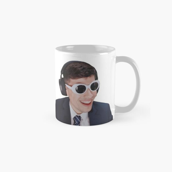 GeorgeNotFound in Goggles  Classic Mug RB0906 product Offical GeorgeNotFound Merch