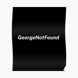 Georgenotfound Gaming Poster RB0906 product Offical GeorgeNotFound Merch