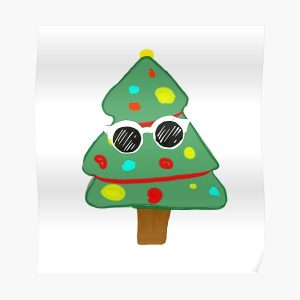 GeorgeNotFound Christmas tree Poster RB0906 product Offical GeorgeNotFound Merch