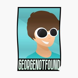 GeorgeNotFound Poster Poster RB0906 product Offical GeorgeNotFound Merch