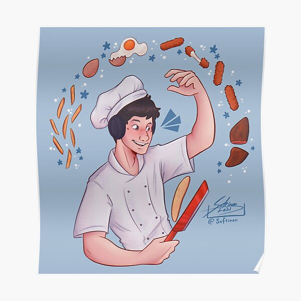 Chef Georgenotfound Poster RB0906 product Offical GeorgeNotFound Merch