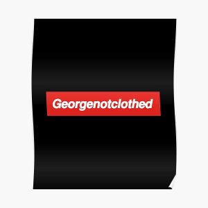 GeorgenotClothed Merch Dream SMP Georgenotfound onlyfans Poster RB0906 product Offical GeorgeNotFound Merch