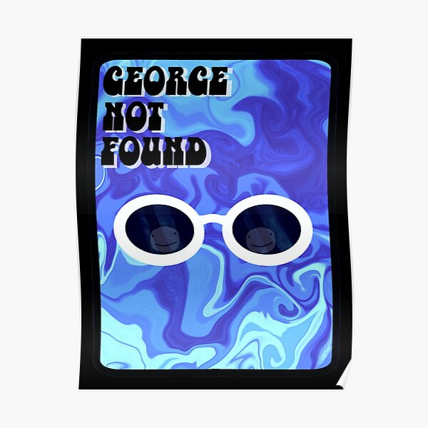 Retro Georgenotfound Poster RB0906 product Offical GeorgeNotFound Merch
