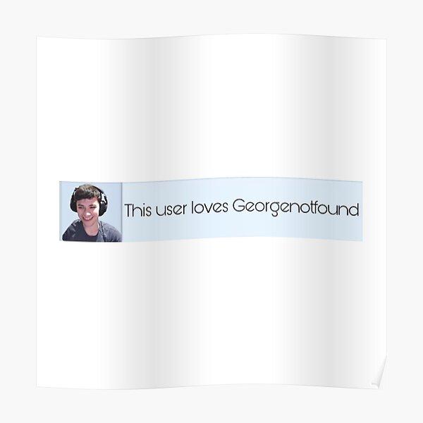Georgenotfound dream team Poster RB0906 product Offical GeorgeNotFound Merch