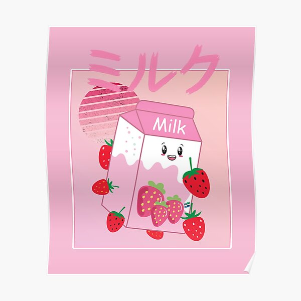 Georgenotfound strawberry milk shake Poster RB0906 product Offical GeorgeNotFound Merch
