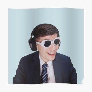 GeorgeNotFound in Goggles  Poster RB0906 product Offical GeorgeNotFound Merch