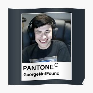 GeorgeNotFound Poster RB0906 product Offical GeorgeNotFound Merch