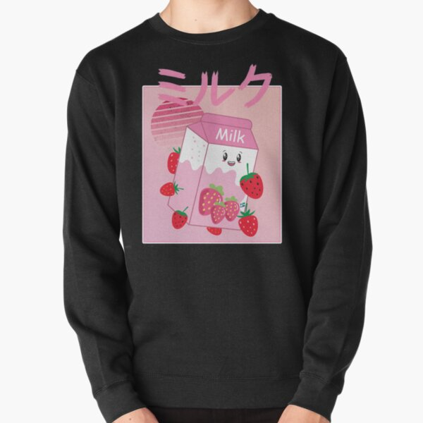 Georgenotfound strawberry milk shake Pullover Sweatshirt RB0906 product Offical GeorgeNotFound Merch