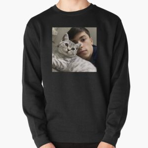 GeorgeNotFound with his cat Pullover Sweatshirt RB0906 product Offical GeorgeNotFound Merch