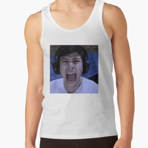 GeorgeNotFound screams Tank Top RB0906 product Offical GeorgeNotFound Merch