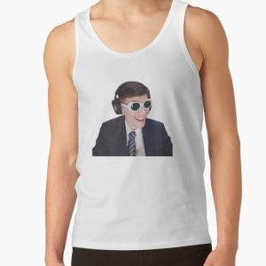GeorgeNotFound in Goggles  Tank Top RB0906 product Offical GeorgeNotFound Merch
