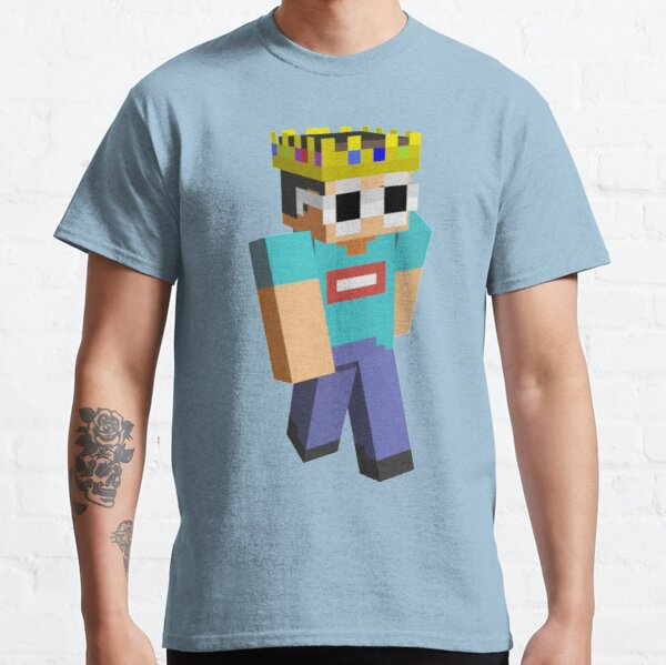 Georgenotfound Glasses Funny Minecraft  Classic T-Shirt RB0906 product Offical GeorgeNotFound Merch