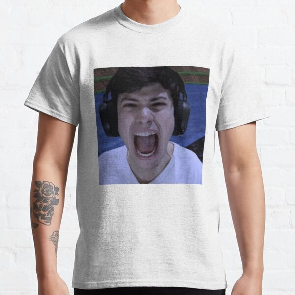 GeorgeNotFound screams Classic T-Shirt RB0906 product Offical GeorgeNotFound Merch