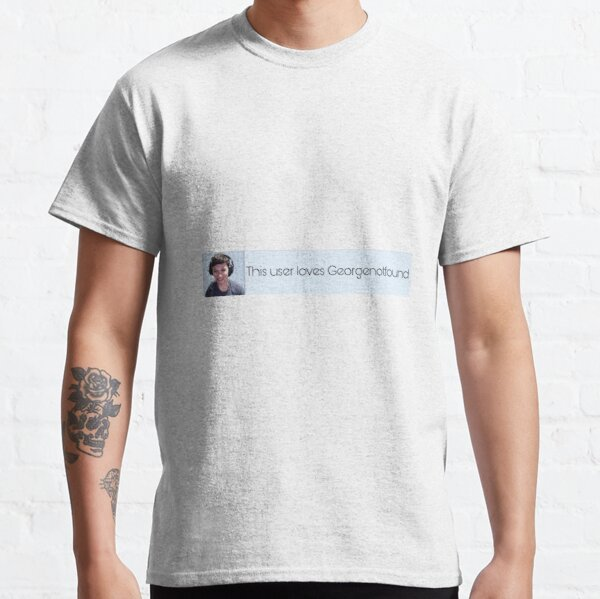 Georgenotfound dream team Classic T-Shirt RB0906 product Offical GeorgeNotFound Merch