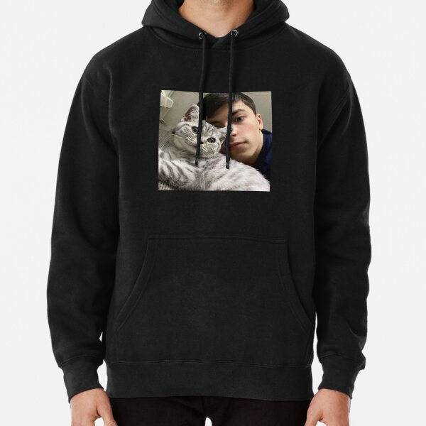 GeorgeNotFound with his cat Pullover Hoodie RB0906 product Offical GeorgeNotFound Merch