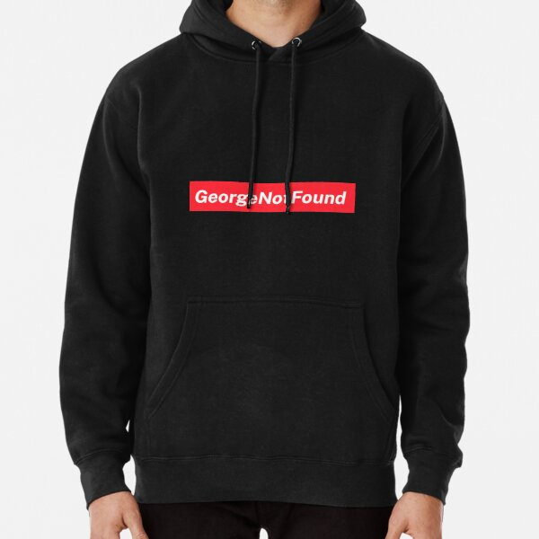 Georgenotfound Merch 404 George Not Found Embroidered Pullover Hoodie RB0906 product Offical GeorgeNotFound Merch