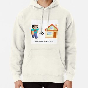 GEORGENOTFOUND CAME HOME Pullover Hoodie RB0906 product Offical GeorgeNotFound Merch
