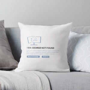 Georgenotfound 404 Throw Pillow RB0906 product Offical GeorgeNotFound Merch
