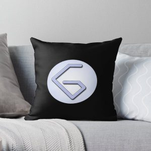 Georgenotfound Gaming Logo Throw Pillow RB0906 product Offical GeorgeNotFound Merch