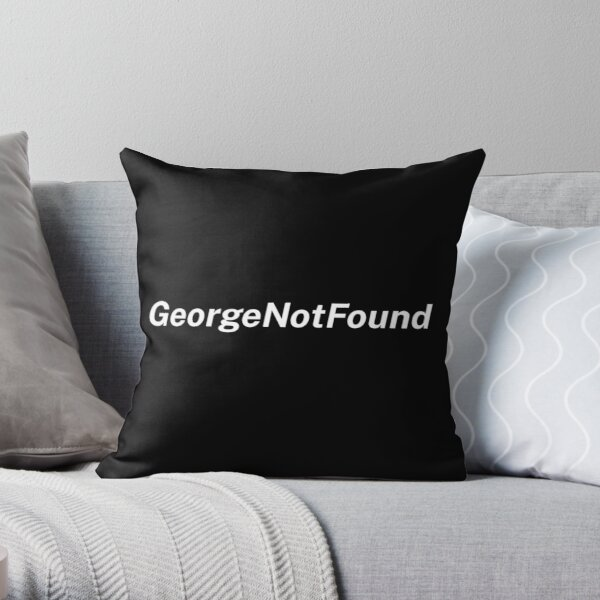 Georgenotfound Gaming Throw Pillow RB0906 product Offical GeorgeNotFound Merch