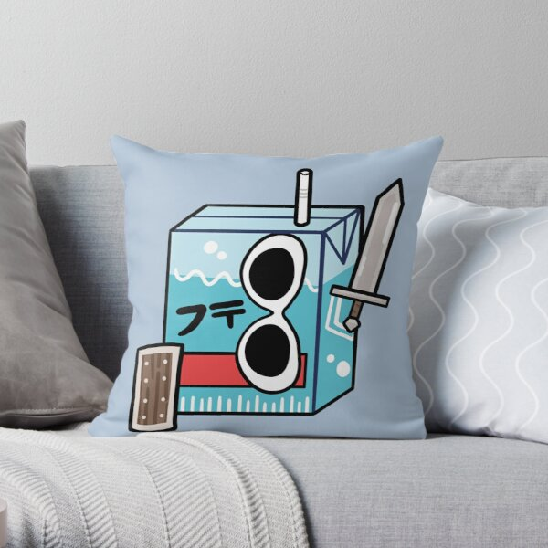 GeorgeNotFound Juice Box Throw Pillow RB0906 product Offical GeorgeNotFound Merch
