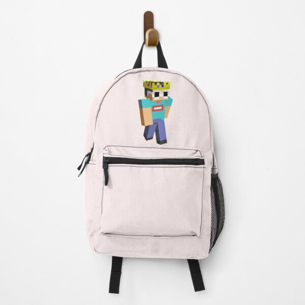 Georgenotfound Glasses Funny Minecraft  Backpack RB0906 product Offical GeorgeNotFound Merch
