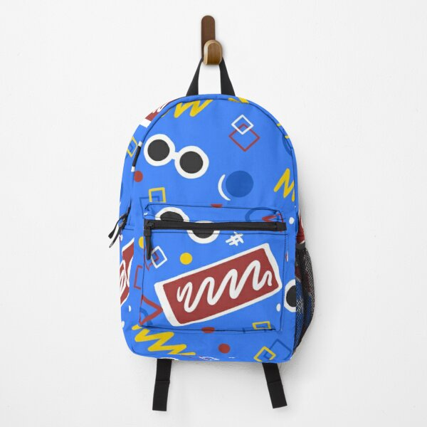 Georgenotfound inspired bowling alley carpet design Backpack RB0906 product Offical GeorgeNotFound Merch