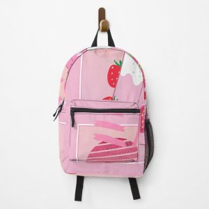Georgenotfound strawberry milk shake Backpack RB0906 product Offical GeorgeNotFound Merch