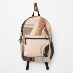 GeorgeNotFound holding knife Backpack RB0906 product Offical GeorgeNotFound Merch