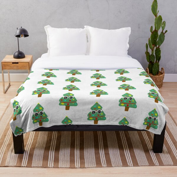 GeorgeNotFound Christmas tree Throw Blanket RB0906 product Offical GeorgeNotFound Merch