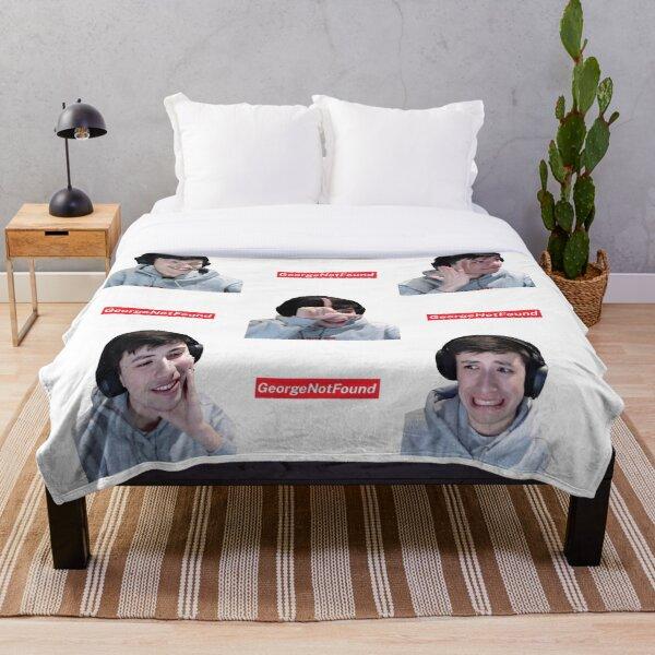 GeorgeNotFound Sticker set Throw Blanket RB0906 product Offical GeorgeNotFound Merch