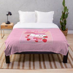 Georgenotfound strawberry milk shake Throw Blanket RB0906 product Offical GeorgeNotFound Merch