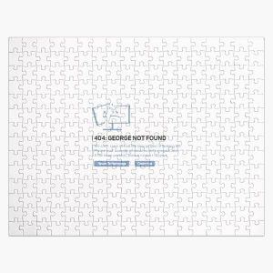 Georgenotfound 404 Jigsaw Puzzle RB0906 product Offical GeorgeNotFound Merch