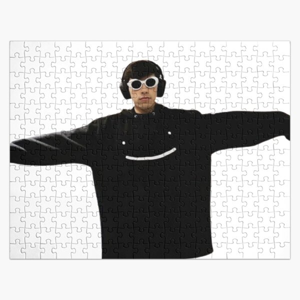 GeorgeNotFound in dream's merch Jigsaw Puzzle RB0906 product Offical GeorgeNotFound Merch