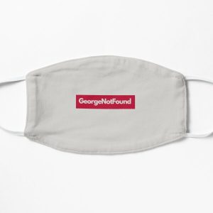 georgenotfound grey Flat Mask RB0906 product Offical GeorgeNotFound Merch