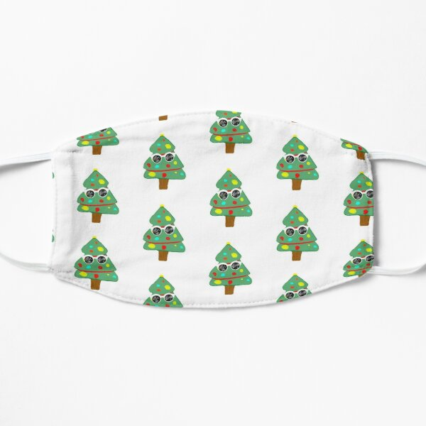 GeorgeNotFound Christmas tree Flat Mask RB0906 product Offical GeorgeNotFound Merch