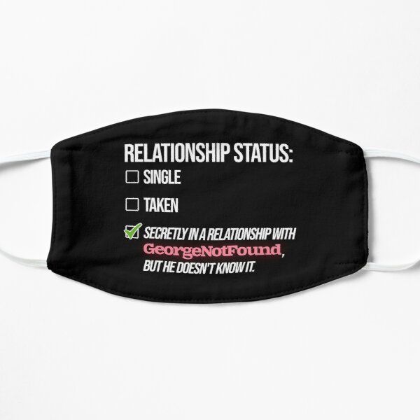 Relationship with GeorgeNotFound Flat Mask RB0906 product Offical GeorgeNotFound Merch