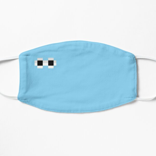 georgenotfound glasses Flat Mask RB0906 product Offical GeorgeNotFound Merch