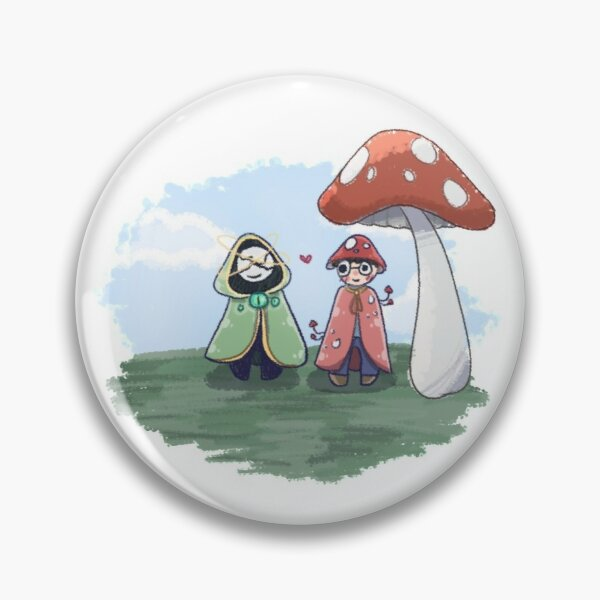 DreamXD and Mushroom Georgenotfound Pin RB0906 product Offical GeorgeNotFound Merch
