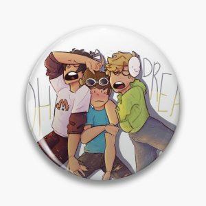 Dream, Georgenotfound, Sapnap Sticker Pin RB0906 product Offical GeorgeNotFound Merch